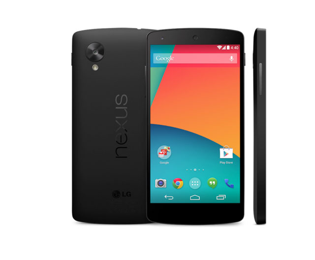 Nexus 5 Press Shot