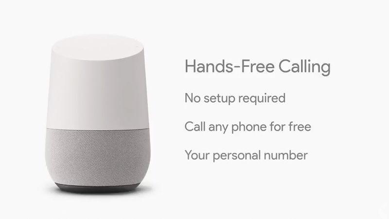 Google Home Voice Calls