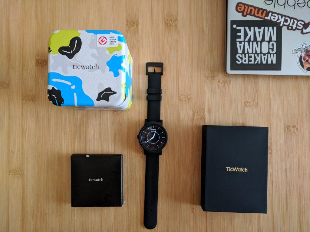 TicWatch E Kickstarter Perks