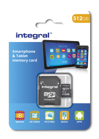 Integral 512GB MicroSD Box