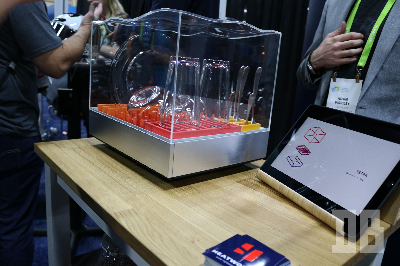 HeatWorks Tetra counter top dishwasher