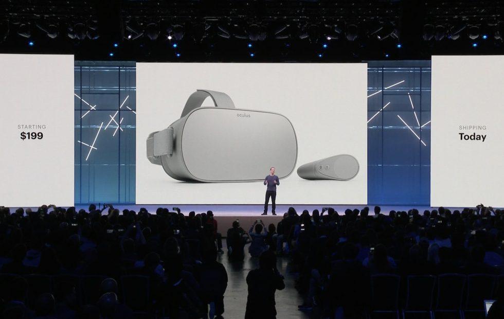 Oculus Go VR Facebook's F8 Developer Conference